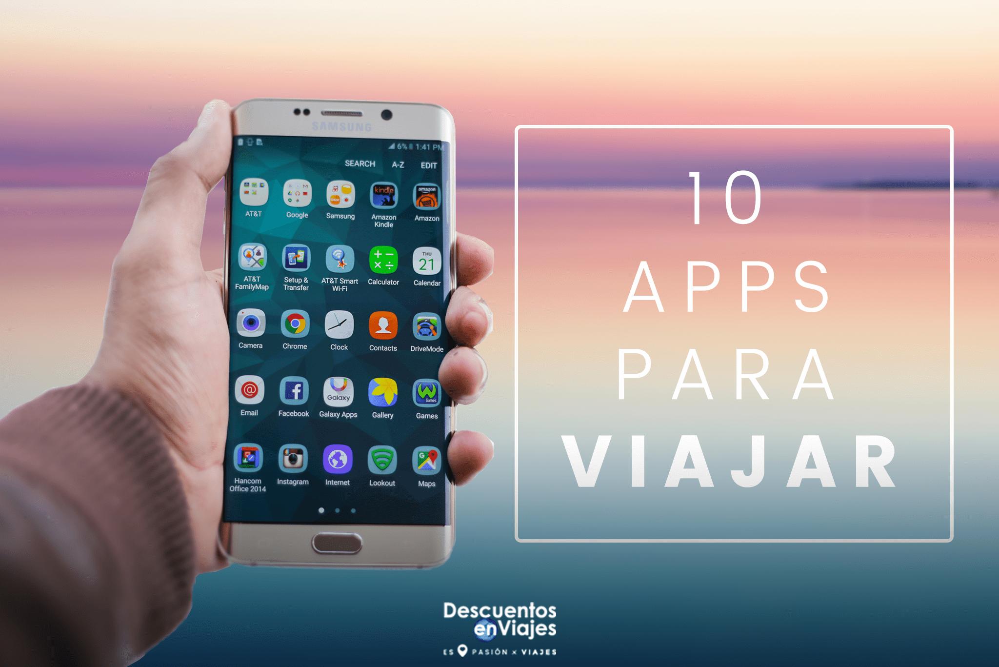 10 apps para viajar
