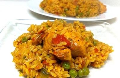 7 arroz con pollo CUBA DESCUENTOS