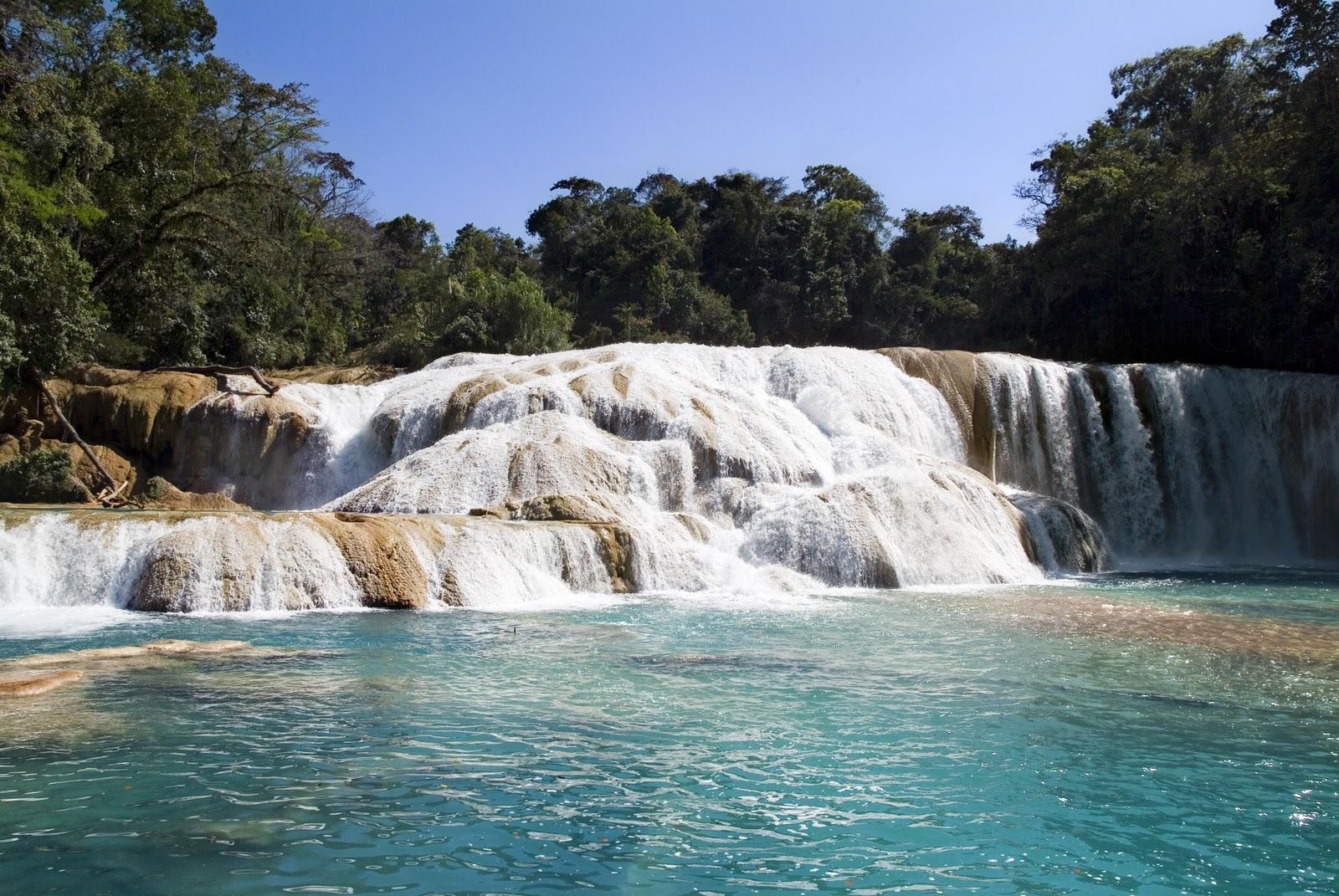 3.Cascadas de Agua Azul